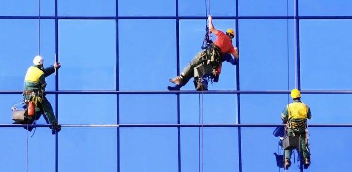 external glass cleaning